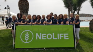with NeoLife girls
